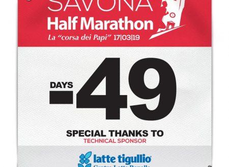 Countdown Savona Half Marathon