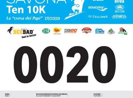 Pettorali Savona Half Marathon