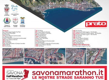 Percorso Savona Half Marathon
