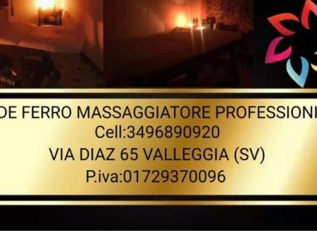 Nuova Collaborazione della Podistica Savonese: Davide Ferro Massaggiatore professionista.